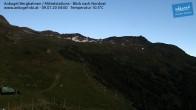 Archiv Foto Webcam Ankogel - Blick von der Mittelstation nach Nordosten 22:00