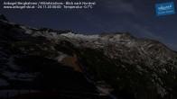 Archiv Foto Webcam Ankogel - Blick von der Mittelstation nach Nordosten 18:00