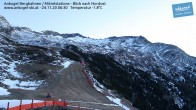 Archiv Foto Webcam Ankogel - Blick von der Mittelstation nach Nordosten 00:00