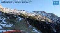 Archiv Foto Webcam Ankogel - Blick von der Mittelstation nach Nordosten 02:00