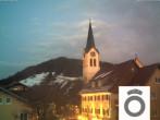 Archiv Foto Webcam Oberstaufen Ortsmitte 17:00