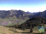 Archived image Webcam Hornbahn mountain station 04:00