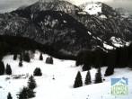 Archiv Foto Webcam Bergstation Hornbahn, Blick Rodelbahn 06:00