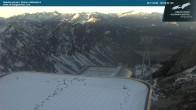 Archiv Foto Webcam Bergstation Höfatsblick 02:00