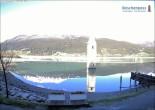 Archiv Foto Webcam Versunkener Turm im Reschensee 02:00