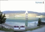 Archived image Webcam The Church Tower in the Lake Resia 02:00