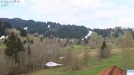 Archiv Foto Webcam Oberstaufen: Biohotel Schratt - Blick zur Imbergbahn 02:00