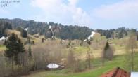Archiv Foto Webcam Oberstaufen: Biohotel Schratt - Blick zur Imbergbahn 04:00