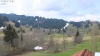 Archiv Foto Webcam Oberstaufen: Biohotel Schratt - Blick zur Imbergbahn 06:00