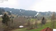 Archiv Foto Webcam Oberstaufen: Biohotel Schratt - Blick zur Imbergbahn 12:00