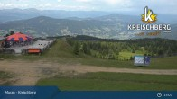 Archived image Webcam Kreischberg Mountain: Top Station Orange Sixpack 09:00