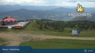 Archived image Webcam Kreischberg Mountain: Top Station Orange Sixpack 11:00