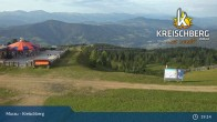 Archived image Webcam Kreischberg Mountain: Top Station Orange Sixpack 13:00