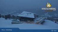 Archiv Foto Webcam Kreischberg: Bergstation Sixpack 19:00