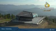 Archived image Webcam Kreischberg Mountain: Top Station Orange Sixpack 01:00