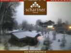Archived image Webcam Hotel Schartner in Altenmarkt 00:00