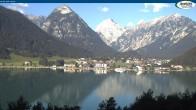 Archiv Foto Webcam Gasthof Bergkristall bei Maurach 02:00