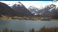 Archiv Foto Webcam Gasthof Bergkristall bei Maurach 08:00