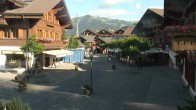 Archiv Foto Webcam Gstaad: Promenade 02:00