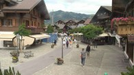 Archiv Foto Webcam Gstaad: Promenade 04:00