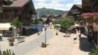 Archiv Foto Webcam Gstaad: Promenade 06:00
