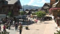 Archiv Foto Webcam Gstaad: Promenade 10:00