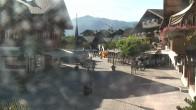 Archiv Foto Webcam Gstaad: Promenade 12:00