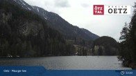 Archiv Foto Webcam Ötztal: Piburger See 07:00