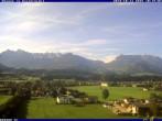 Archived image Webcam Kössen in Tyrol (589 m) 04:00
