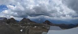 Archiv Foto Webcam Crans Montana: Bergstation Plaine Morte 10:00