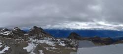 Archiv Foto Webcam Crans Montana: Bergstation Plaine Morte 08:00