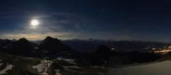 Archiv Foto Webcam Crans Montana: Bergstation Plaine Morte 14:00