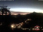 Archiv Foto Webcam Gaisberg Bergstation 03:00