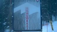 Archiv Foto Webcam Schneehöhe Winter Park 00:00