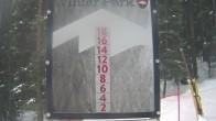 Archiv Foto Webcam Schneehöhe Winter Park 02:00
