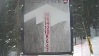 Archiv Foto Webcam Schneehöhe Winter Park 06:00