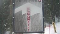 Archiv Foto Webcam Schneehöhe Winter Park 08:00