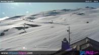 Archiv Foto Webcam Livigno: Auf der Camanel di Planon Hütte 02:00