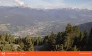 Archiv Foto Webcam Blick vom Plose auf Brixen 02:00