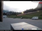 Archiv Foto Webcam Sella Nevea: Parkplatz Bergbahnen 00:00