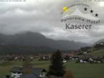 Archiv Foto Webcam Hotel Garni Kaserer 05:00