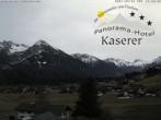 Archiv Foto Webcam Hotel Garni Kaserer 08:00