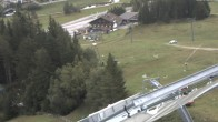 Archiv Foto Webcam Sprungschanze Seefeld 08:00