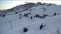 Archiv Foto Webcam Bergstation Hahnenkamm, Reutte 10:00