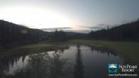 Archived image Webcam Golf Course Sun Peaks 23:00