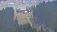 Archiv Foto Webcam Blick vom Bergrestaurant Stiglreith auf Peter Anich Bahn 04:00