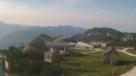 Archiv Foto Webcam Blick vom Feuerkogelhaus auf das Skigebiet 02:00