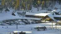 Archived image Webcam Super Pipe Mammoth Mountain 09:00