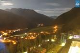 Archiv Foto Webcam Turm des Gradonna Hotels, Kals 20:00