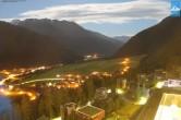 Archiv Foto Webcam Turm des Gradonna Hotels, Kals 22:00